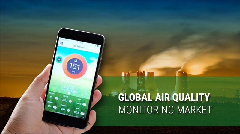 Increasing Level of Air Pollution Across the Globe is Driving the AQM Market