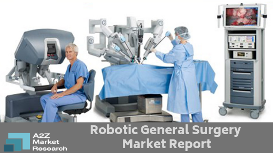 As per New Research, Robotic General Surgery Market estimated to grow with a CAGR of +10% in near Future by Top Companies like Accuray, Intuitive Surgical, Medrobotics Corporation, TransEnterix Surgical, meerecompany, Titan Medical, Verb Surgical
